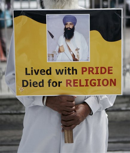 Lived wid pride died for religion