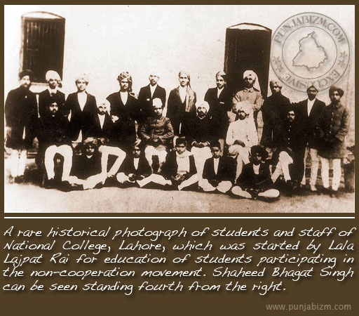 A rare historical photograph of bhagat singh