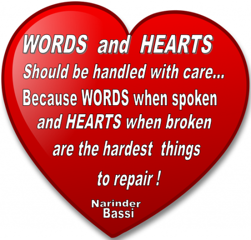 WORDS & HEARTS