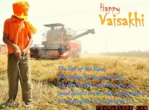 Happy visakhi