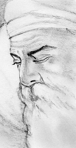 Painting Shri Guru Nanak Dev Ji